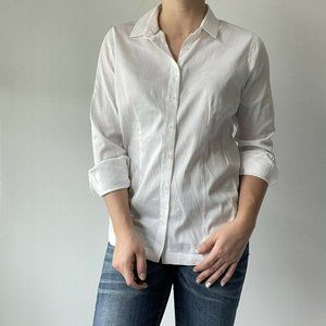 Soft Surroundings Perfection in White Button Down